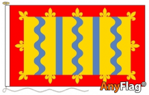 CAMBRIDGESHIRE RED ANYFLAG RANGE - VARIOUS SIZES